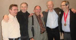 Les 5 mousquetaires au Congres CNPK de Clermont en 2008